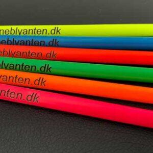 Jumbofarveblyanter i Neon farver