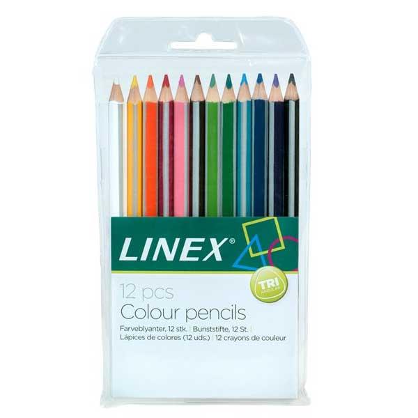 Linex farveblyanter jumbo