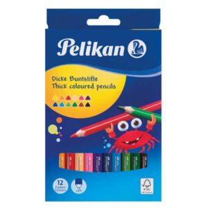 Jumbo Pelikan farveblyanter
